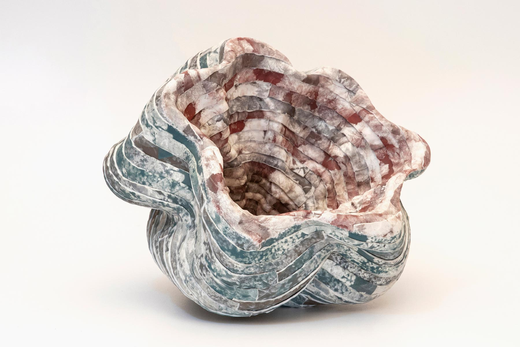 Sara Dario Sculpture Double Nature Porcelain 1280 Photo Serigraphy