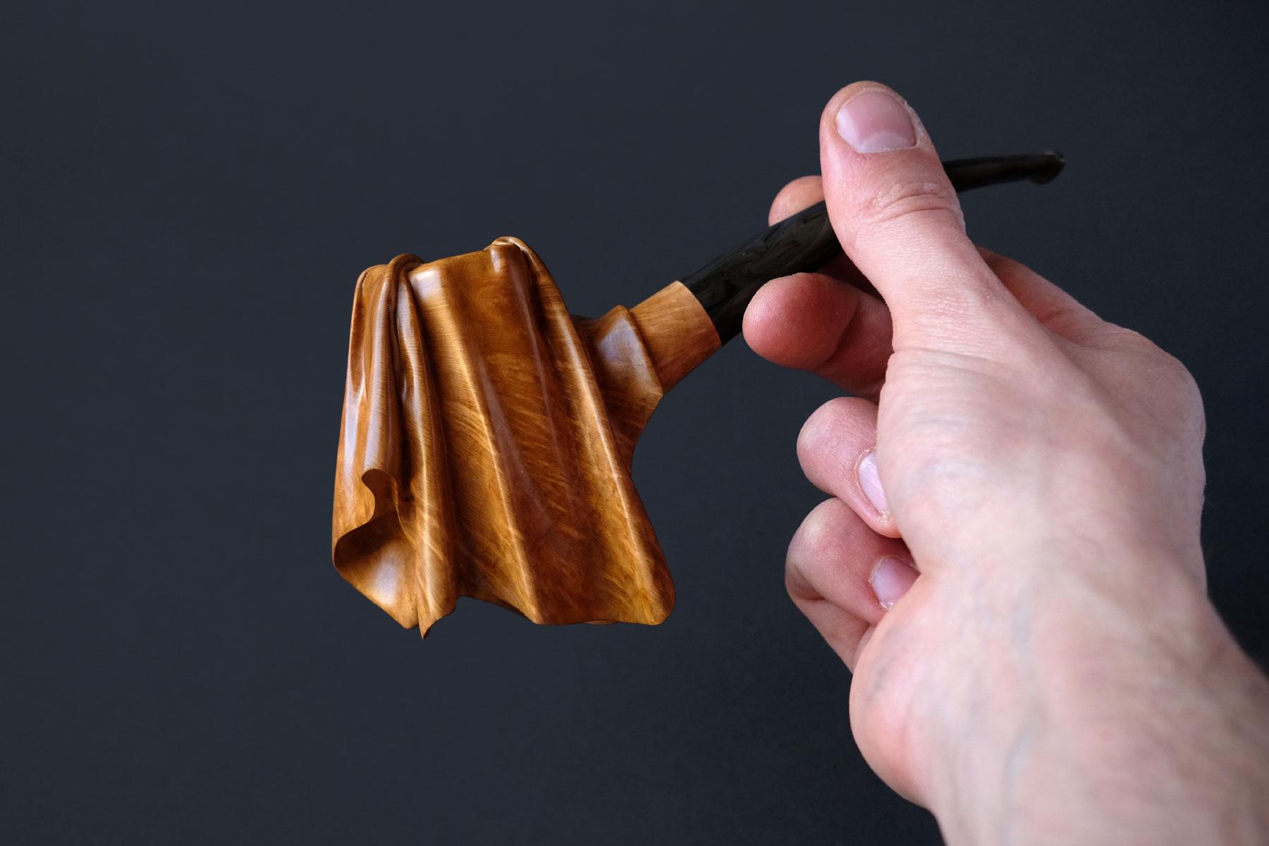 Tobacco pipe The Veiled Pipe Arcangelo Ambrosi Italiano Plurale artist