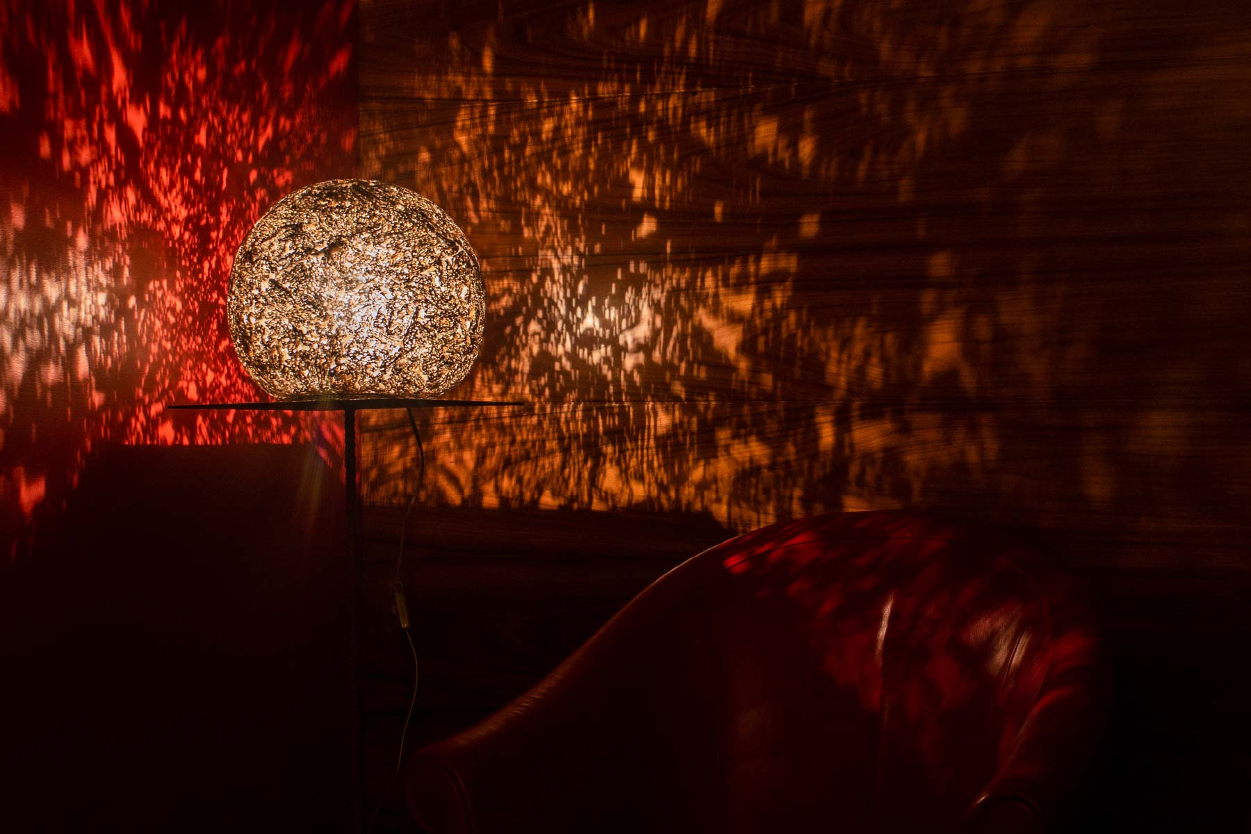 Alessandra Bray Lamp Dadamatria Cardboard