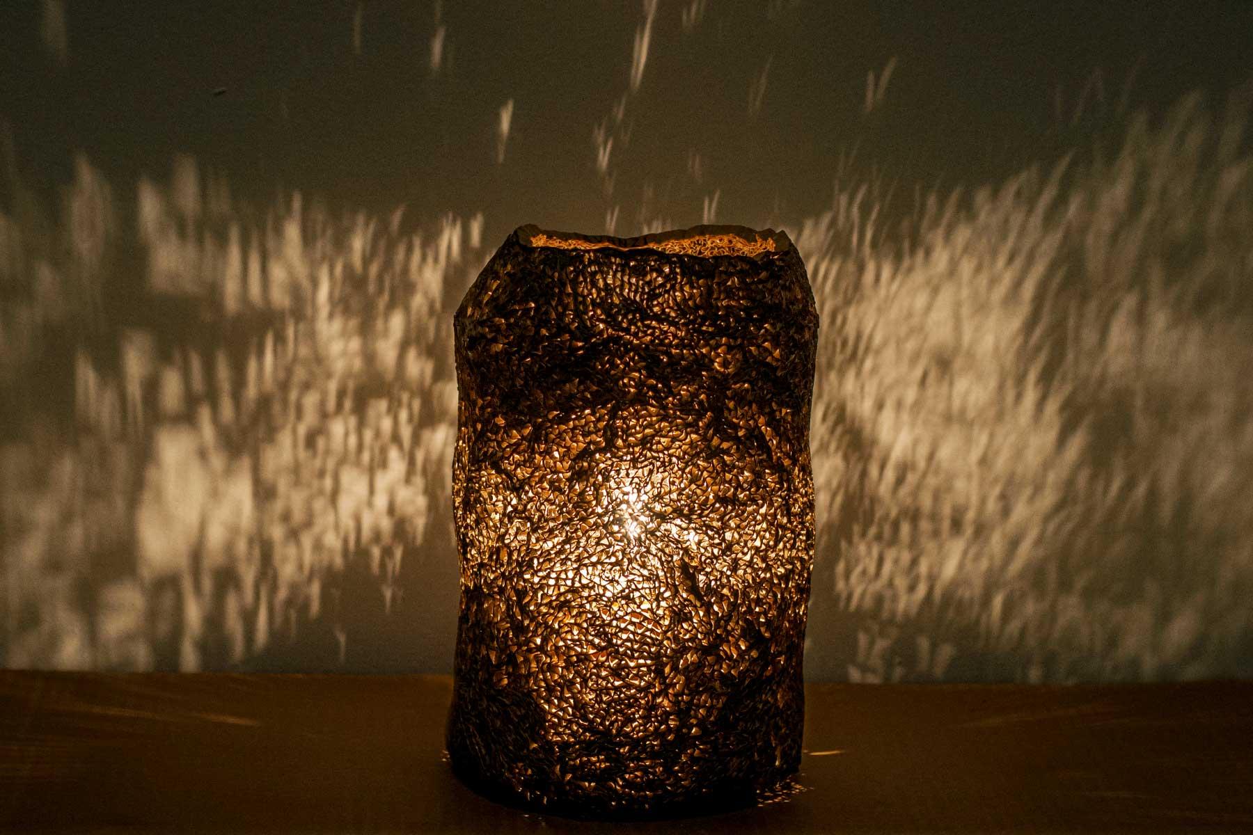 Lamp Aladi Cardboard Alessandra Bray