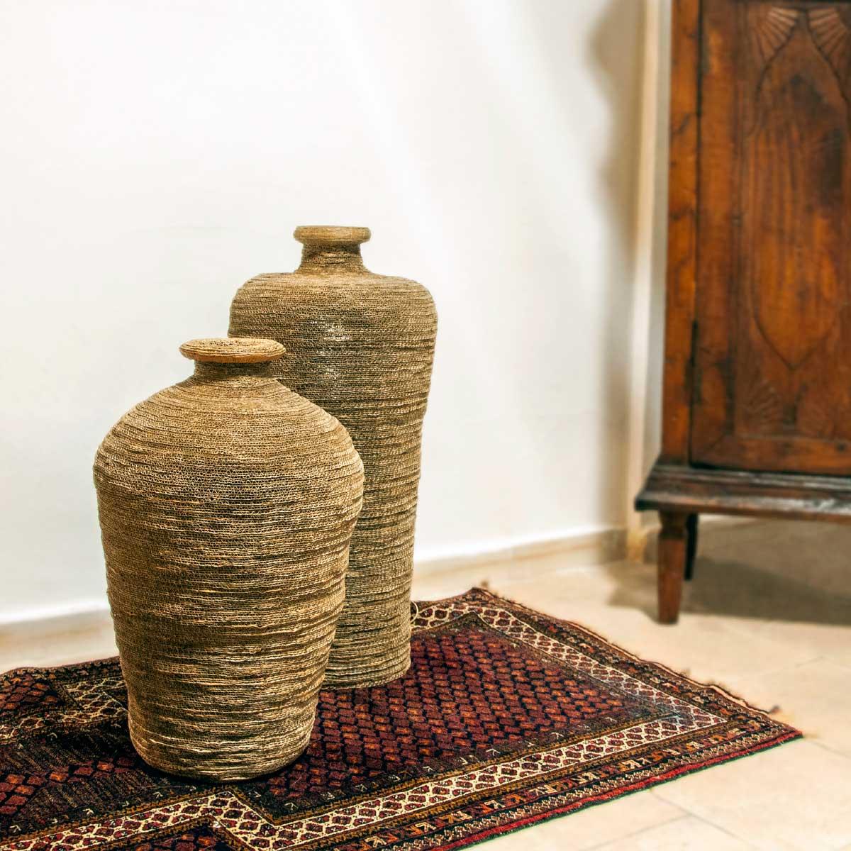 Lamp Aretusa Cardboard Alessandra Bray Italiano Plurale artist