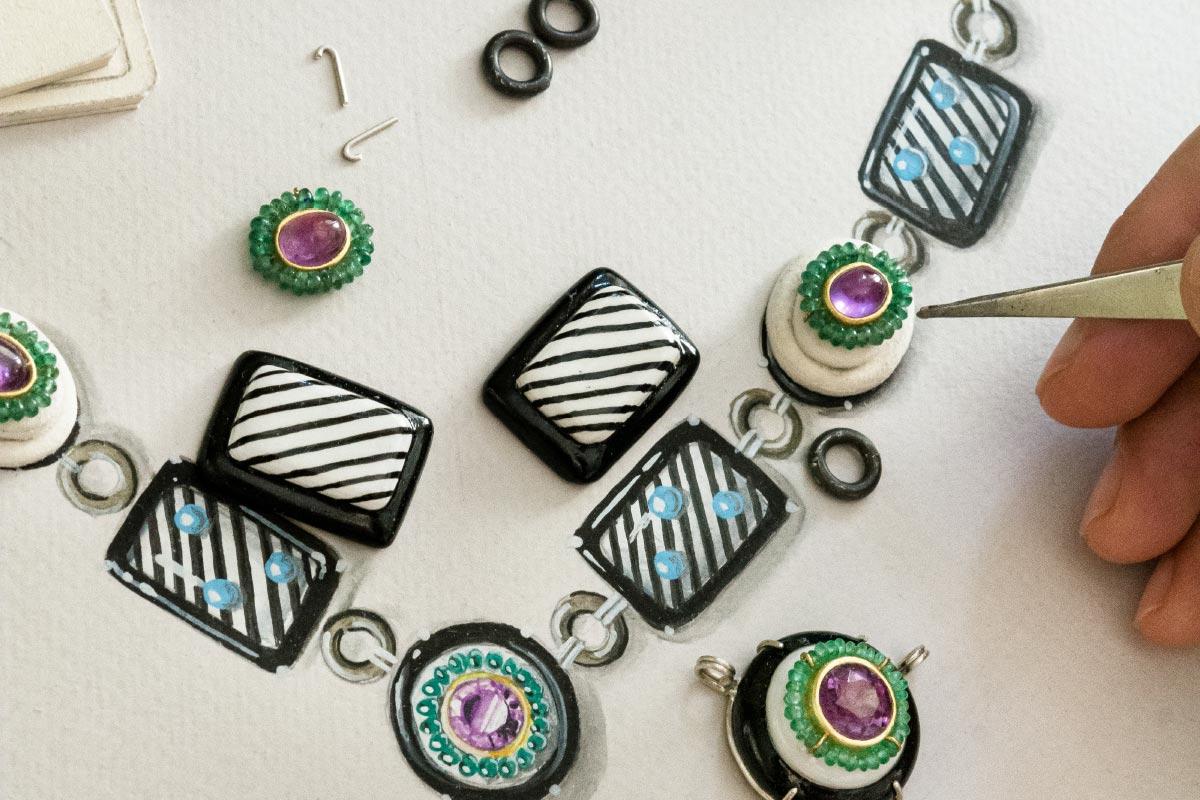 jewelry art handmade working details Gian Luca Bartellone contemporary artist Italiano Plurale