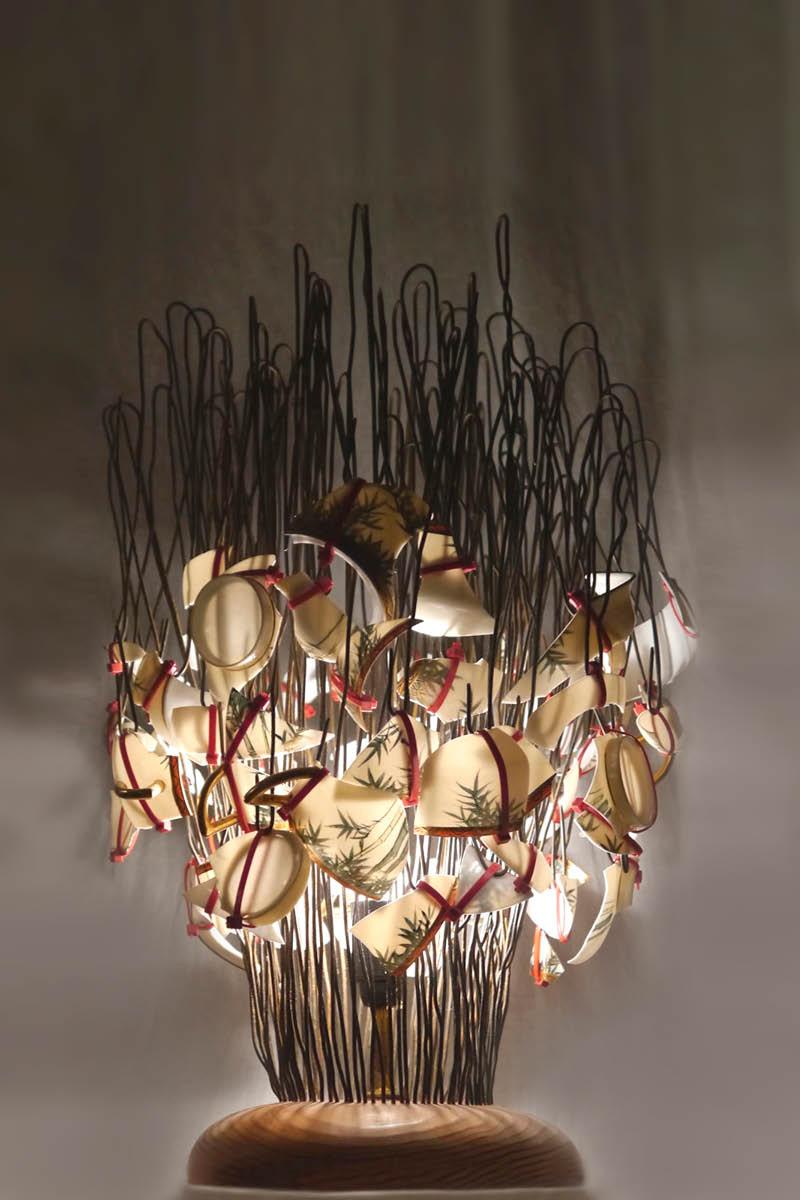 Lamp porcelain verena oppermann