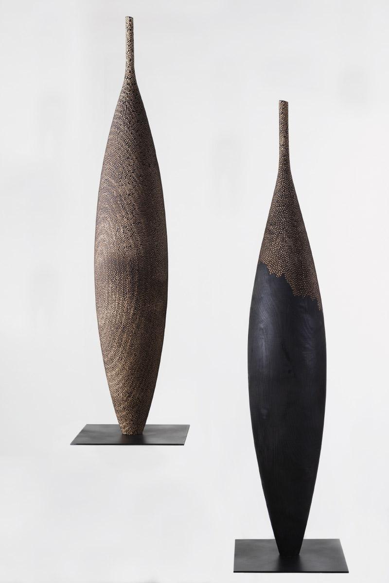 Riccardo Masini Sculpture Shapes Fraxinus Ornus Italiano Plurale