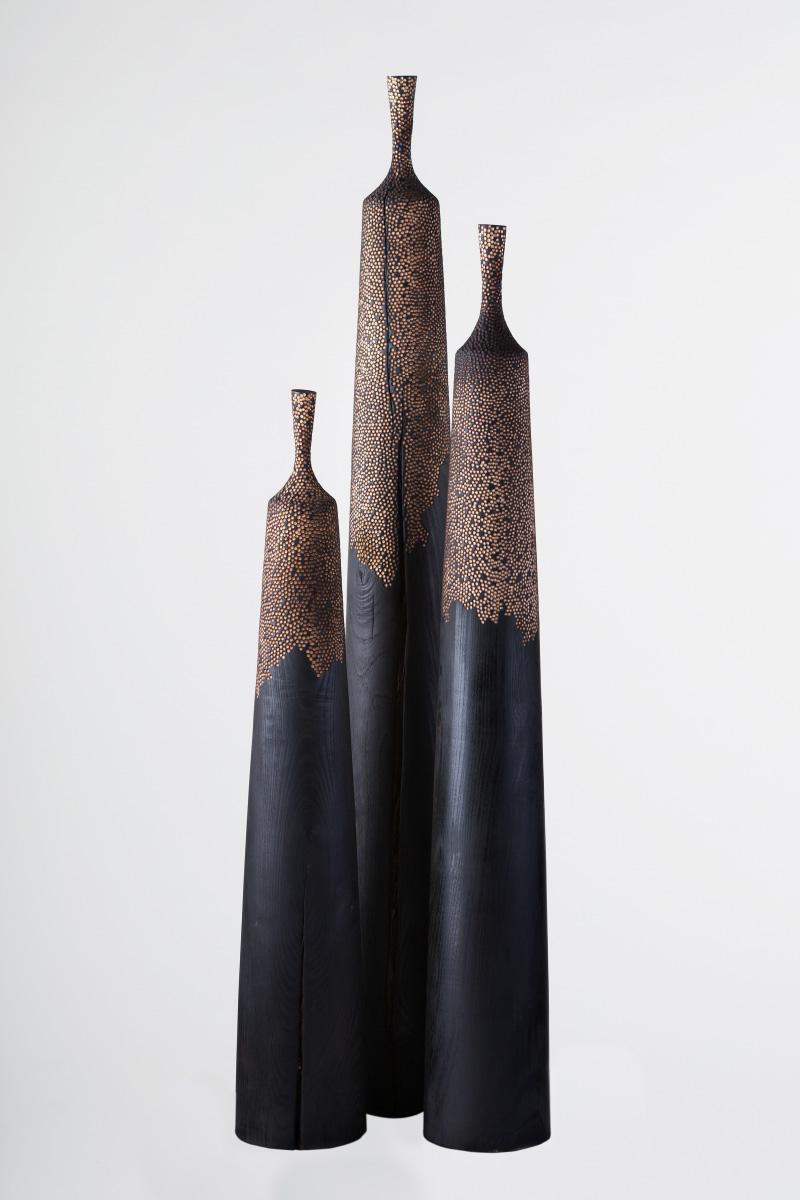 Riccardo Masini Wood Sculpture Bells Fraxinus Ornus