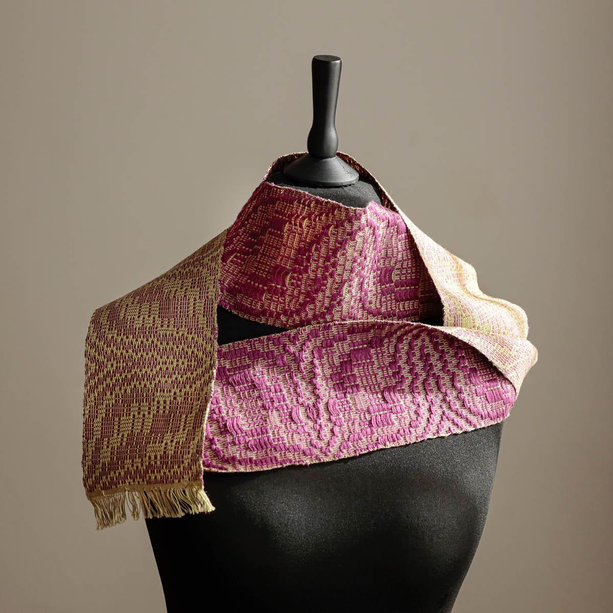 Small fabric pattern dalldraell cotton linen verena oppermann Italiano Plurale artist