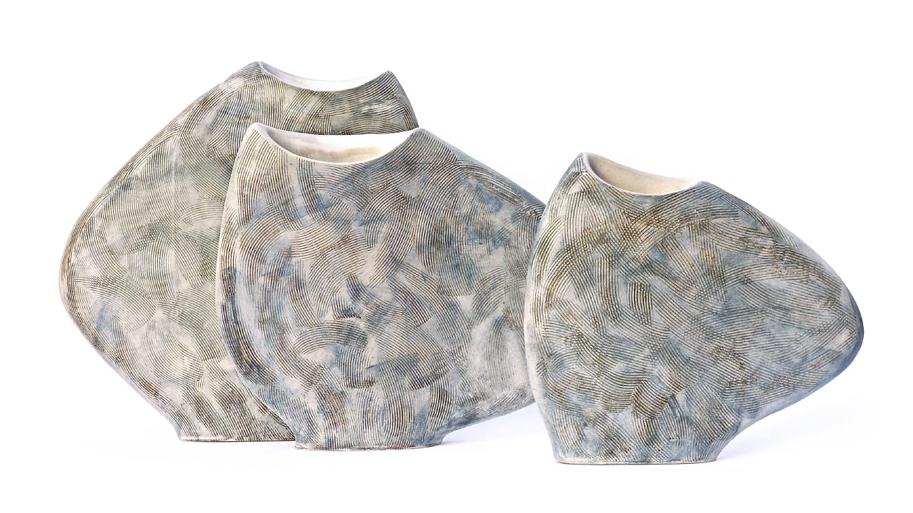 contemporary artist Sara Federici Vases italiano plurale 2