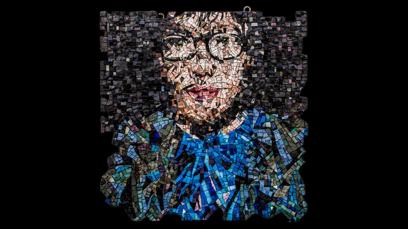 italian contemporary art Ursula Corsi mosaic Italiano Plurale