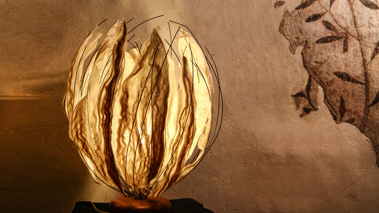 italian contemporary art verena oppermann lamp Italiano Plurale