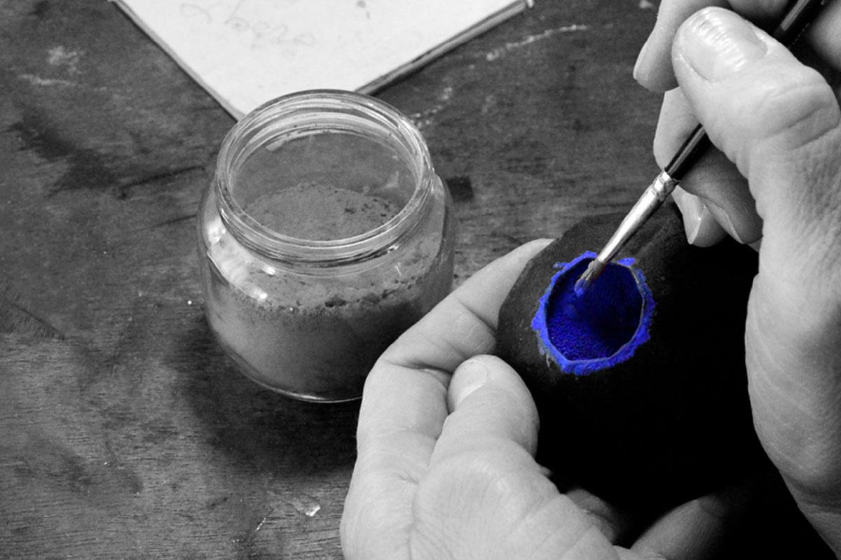 jewelry art handmade working details Caterina Zanca contemporary artist Italiano Plurale