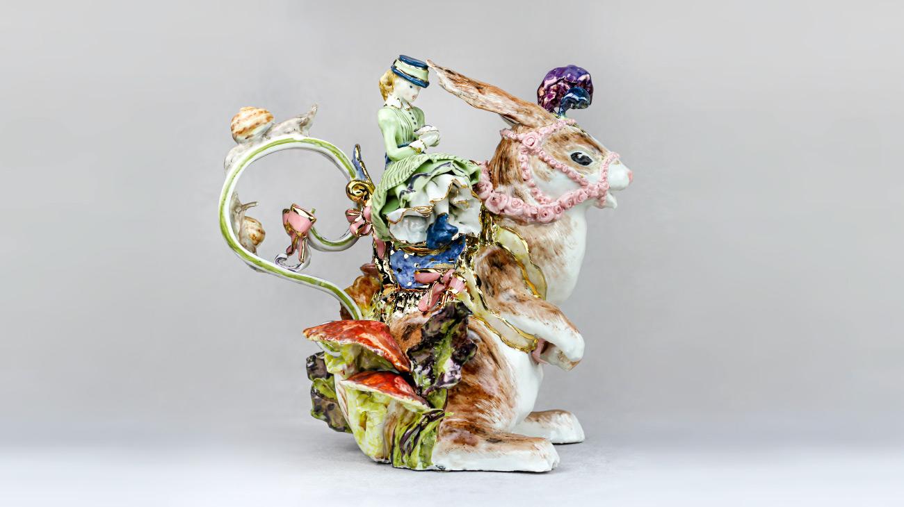 italian contemporary art Cecilia Coppola teapot Italiano Plurale